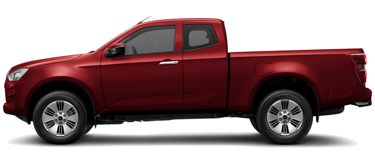 ISUZU_D-Max_SPACE_N60BB_Red Spinel Mica_lato