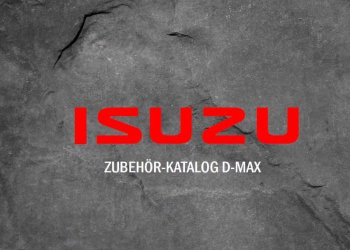 Zubehör Katalog Isuzu D-Max Mai 2019