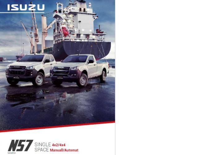 Katalog Isuzu D-Max SPACE und SINGLE N57